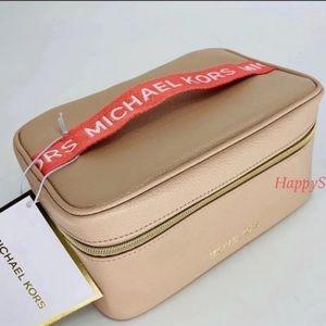 Michael Kors Cosmetic Bag Box Makeup Train Case